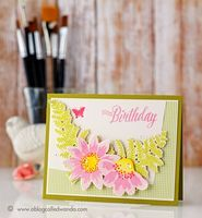 A Blog Called Wanda - Papertrey Ink February 2016 Blog Hop - Spring Florals!