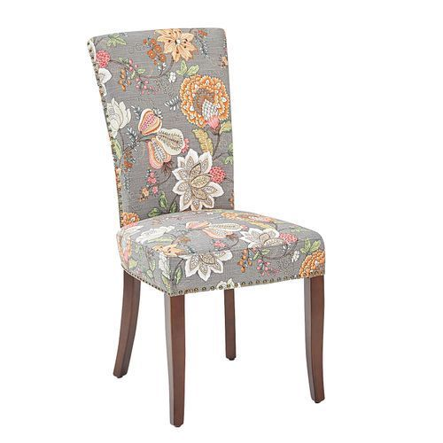 Adelaide Berlin Taupe Dining Chair With Walnut Brown Wood Apt