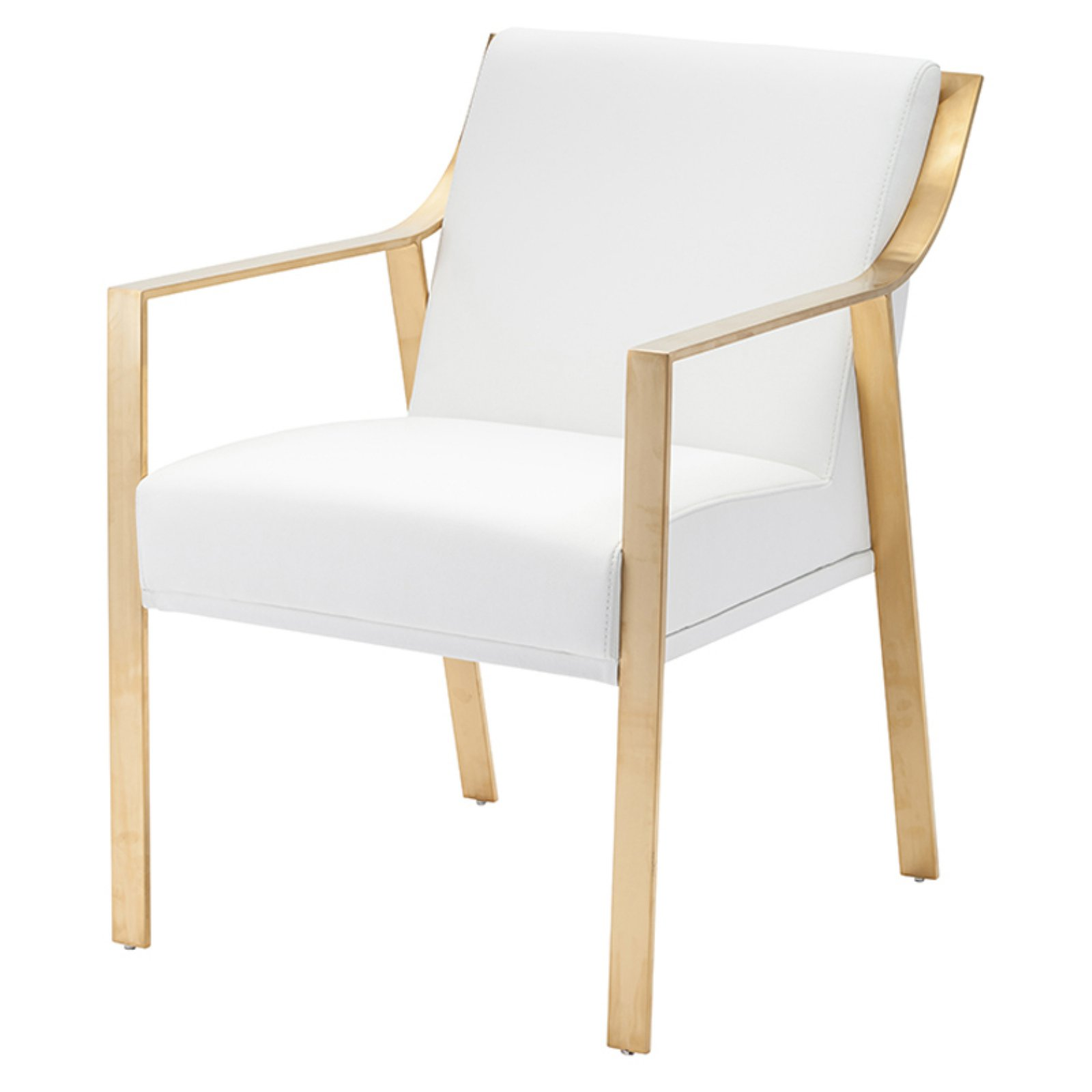 Nuevo Valentine Gold Dining Chair With Images Gold Dining