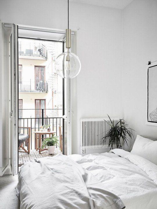 Best Bright Modern Scandinavian Bedroom With White Interior Scandinavian Design Bedroom All White 640 x 480