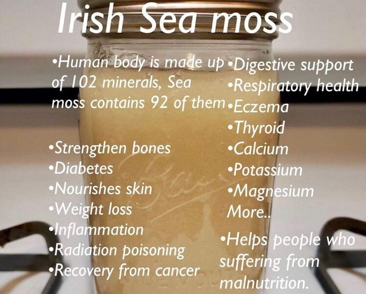 Sea Moss Sea Moss Digestive Support Nourishing Skin