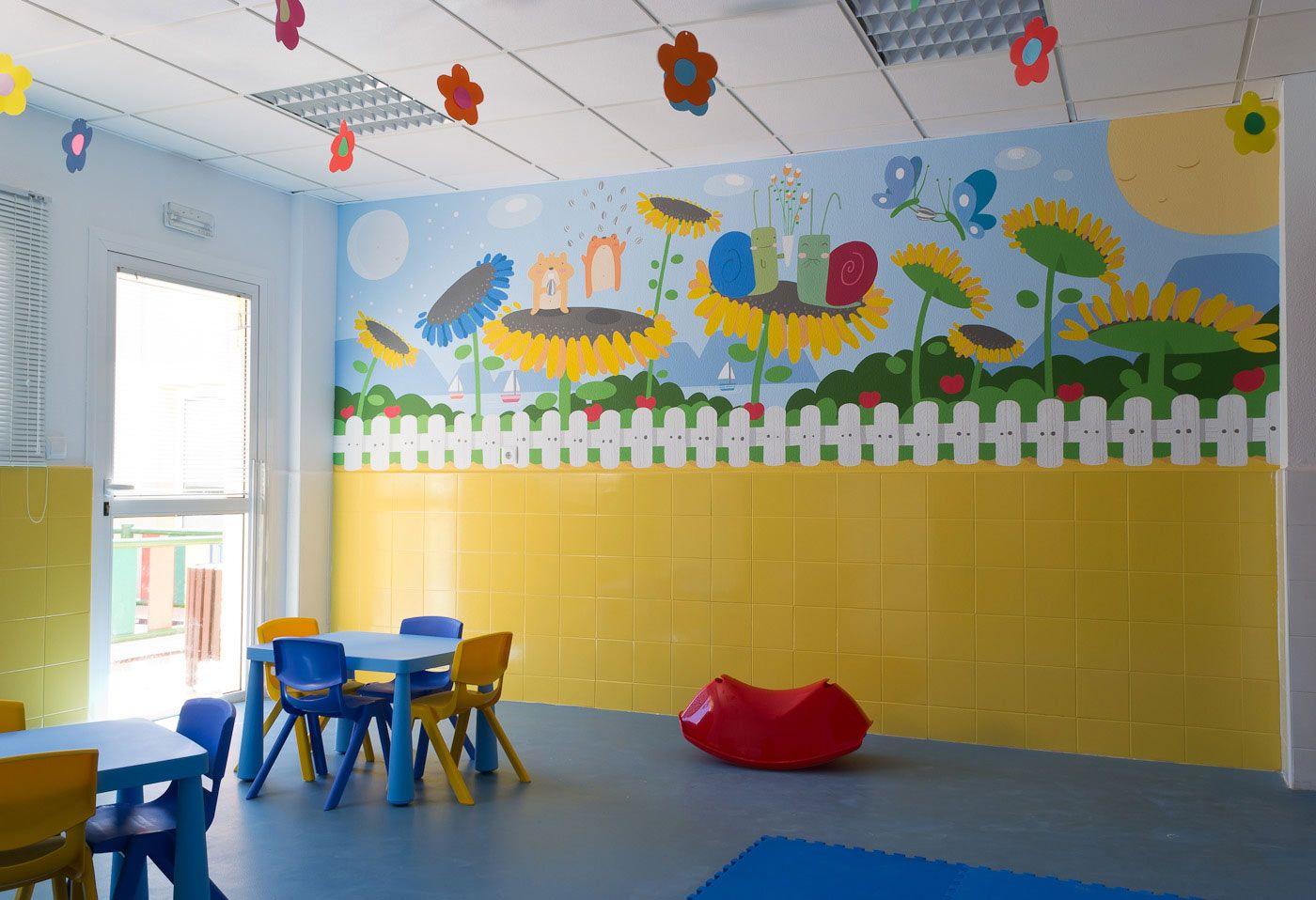 decoracion estancias infantiles - Buscar con Google | daycare ...
