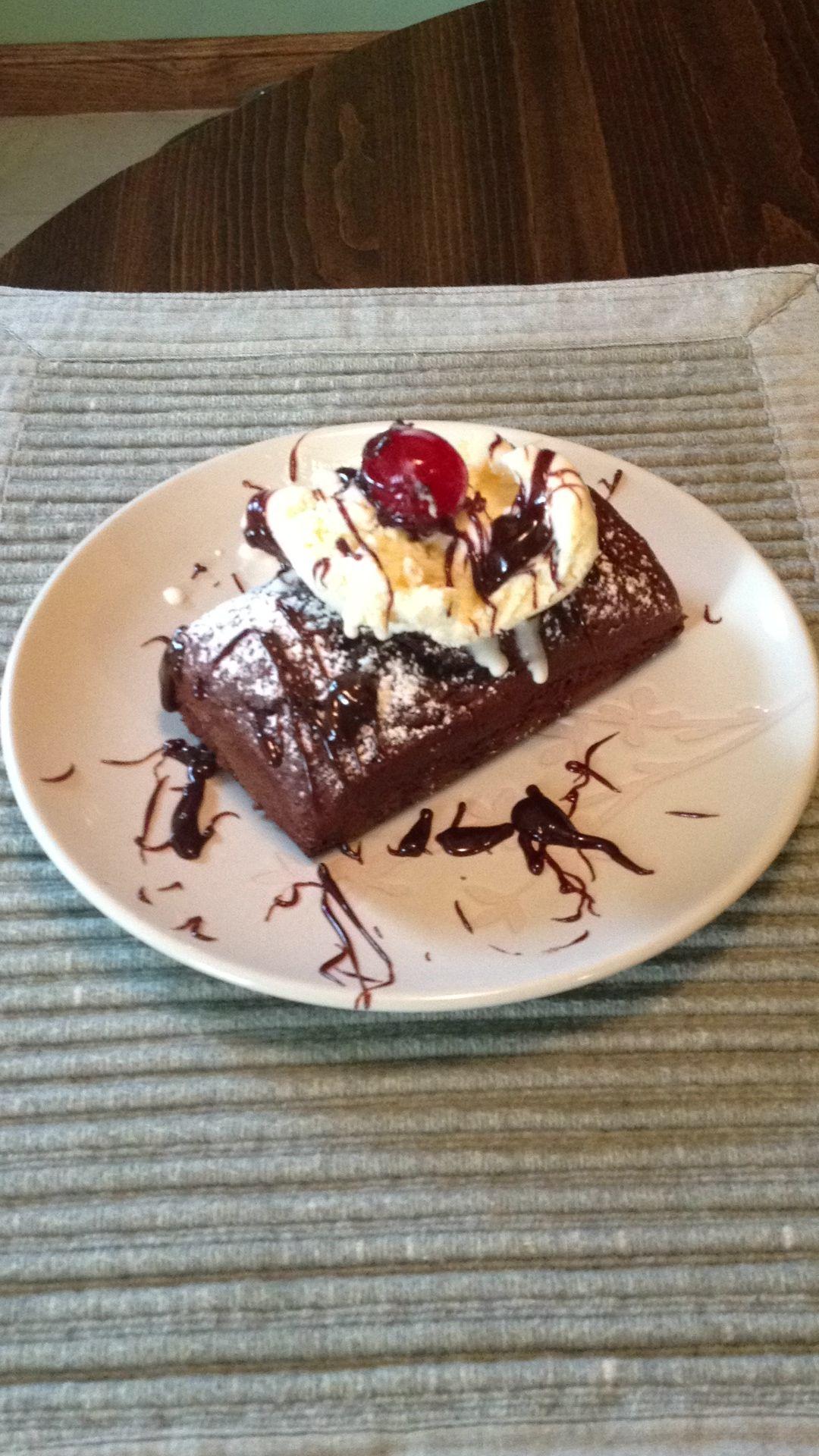 Devils food cake with ice cream food cake recipes