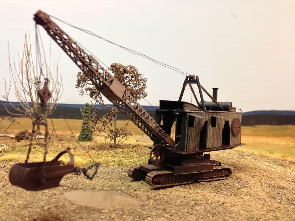 Diversion Channel Steam Dredger Model Railroad Pictures Model Trains Garden Trains