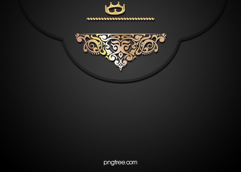 Gold Lace Pattern On A Black Background Invitations Gold Poster Banner Background Images Light Background Images