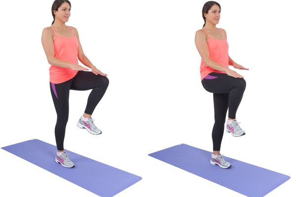 Image result for High Knee Exercise
