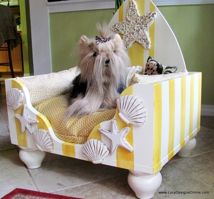 throne dog bed