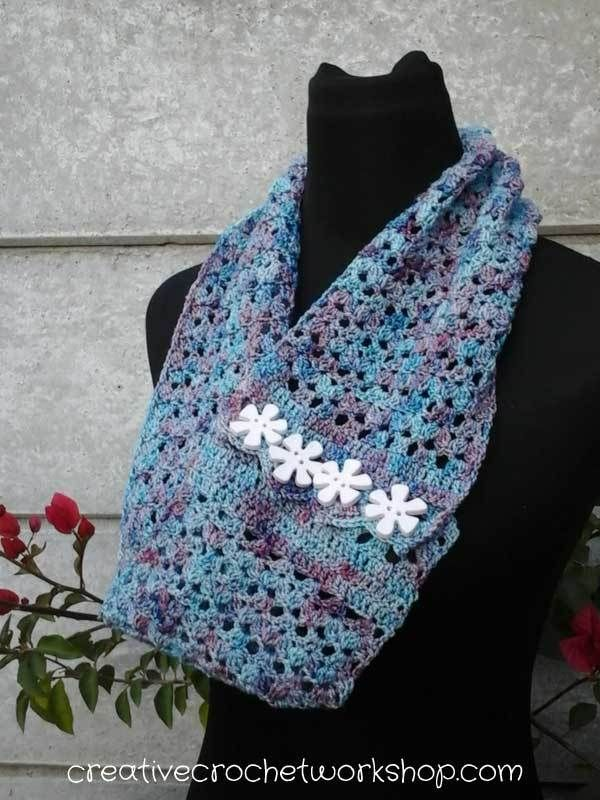 Make Me Proud Infinity Scarf | start crocheting | Pinterest