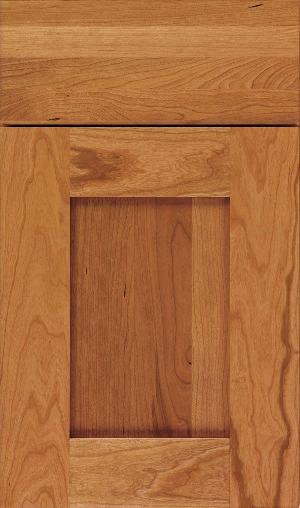 Artisan Cherry Shaker Cabinet Door in Wheatfield | Kitchen 31 ...