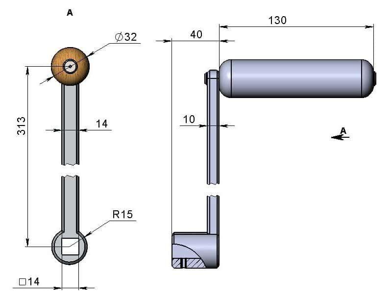 Трубогиб профильной трубы своими руками фото чертежи