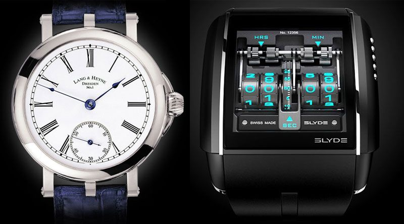 Affinity between Lang & Heyne and HD3 Slyde - Monochrome Watches