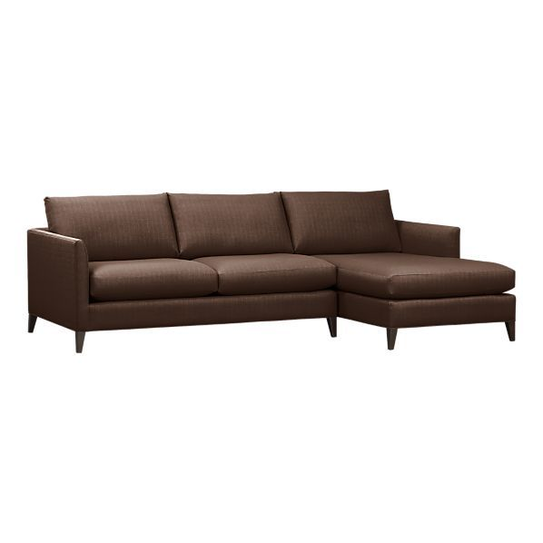 Maximize your space with a high-quality sectional sofa from Crate and Barrel .  sc 1 st  Pinterest : crate and barrel klyne sectional - Sectionals, Sofas & Couches