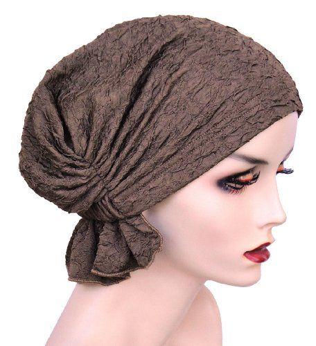 86376c624e4 Turban Plus Abbey Cap in Bronze Textured Knit
