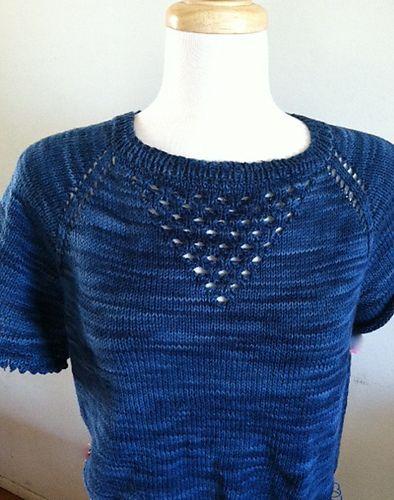 Ravelry: Summer-Tea Shirt pattern by Vera Sanon