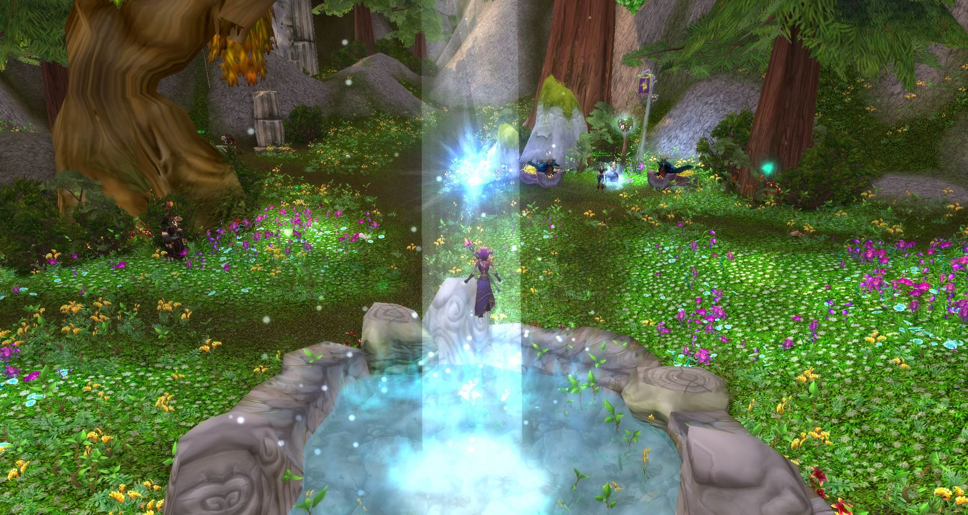Helping the Ancients in Mount Hyjal