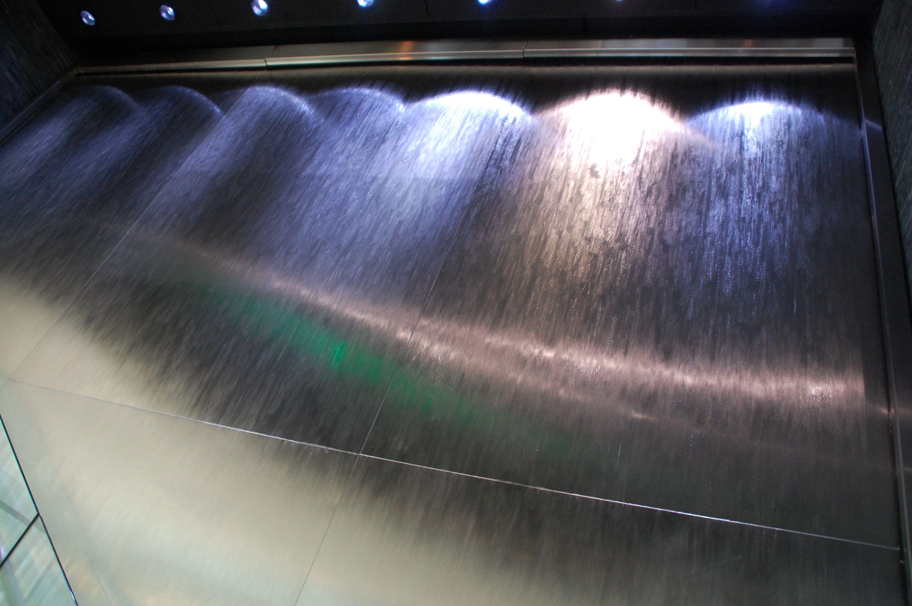 Custom Water Feature For Restaurant Www Bluworldusa Com Custom