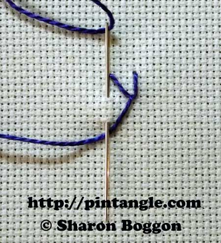 Tutorial Pintangle Tutoriales Pinterest Feathers Stitch And