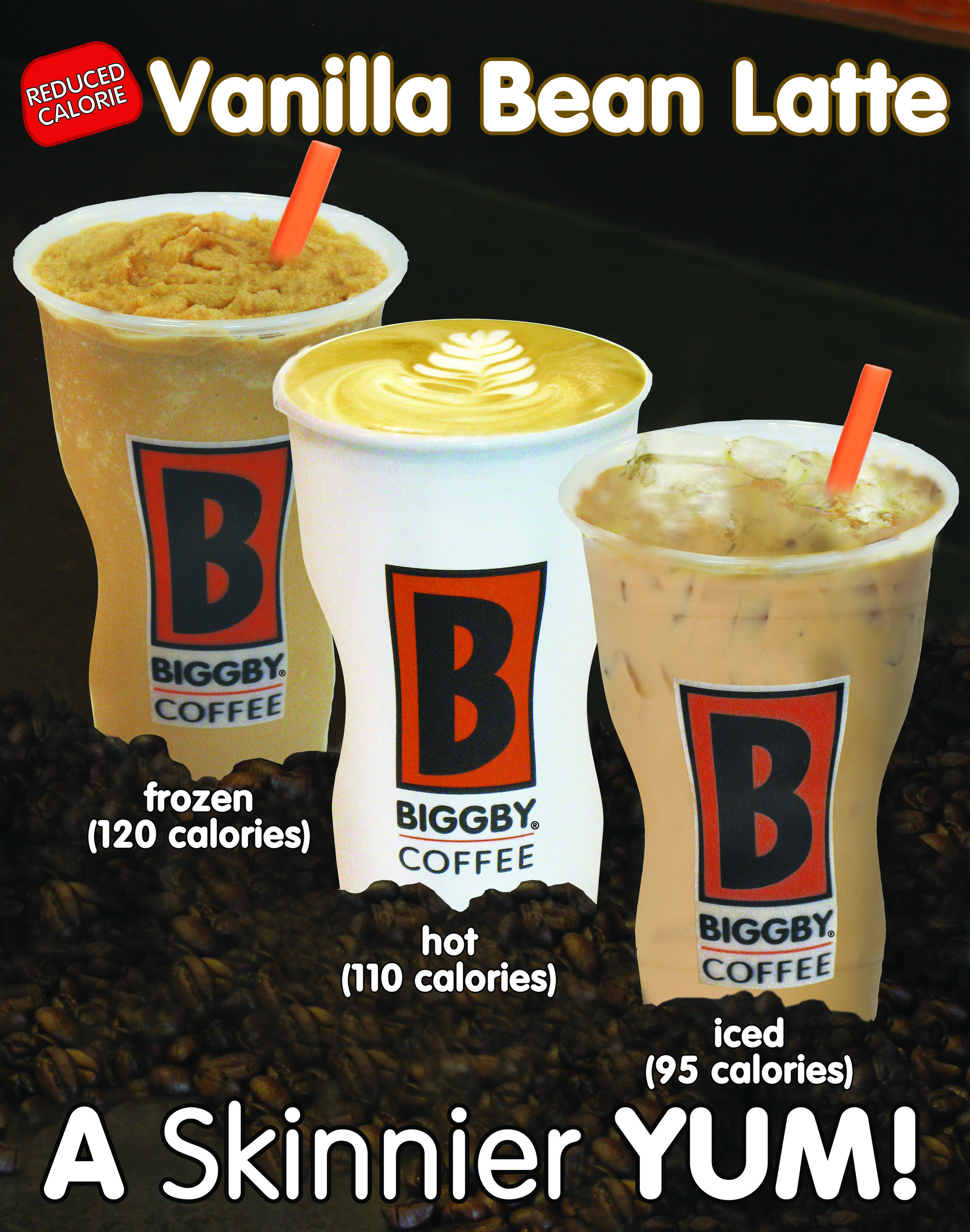Reduced Calorie Vanilla Bean Latte Low Calorie Drinks Healthy Coffee Low Carb Drinks