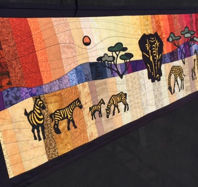African Table Runner By Helen Godden Via Craftsy