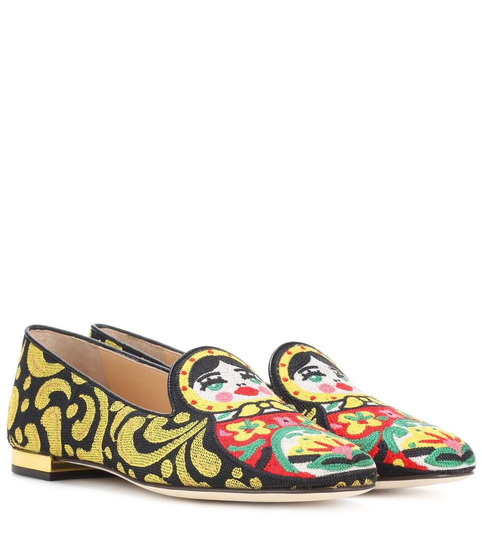 CHARLOTTE OLYMPIA Matrioska embroidered loafers.  charlotteolympia  shoes   d2214506a