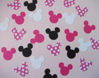 Minni Mouse deko basteln | zavannah | Kindergeburtstag ...