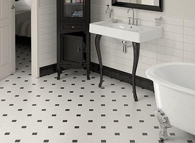 8X8 Bathroom Design Octagon Floor Tile From Centura  Equipe In This Image Blanco Mat