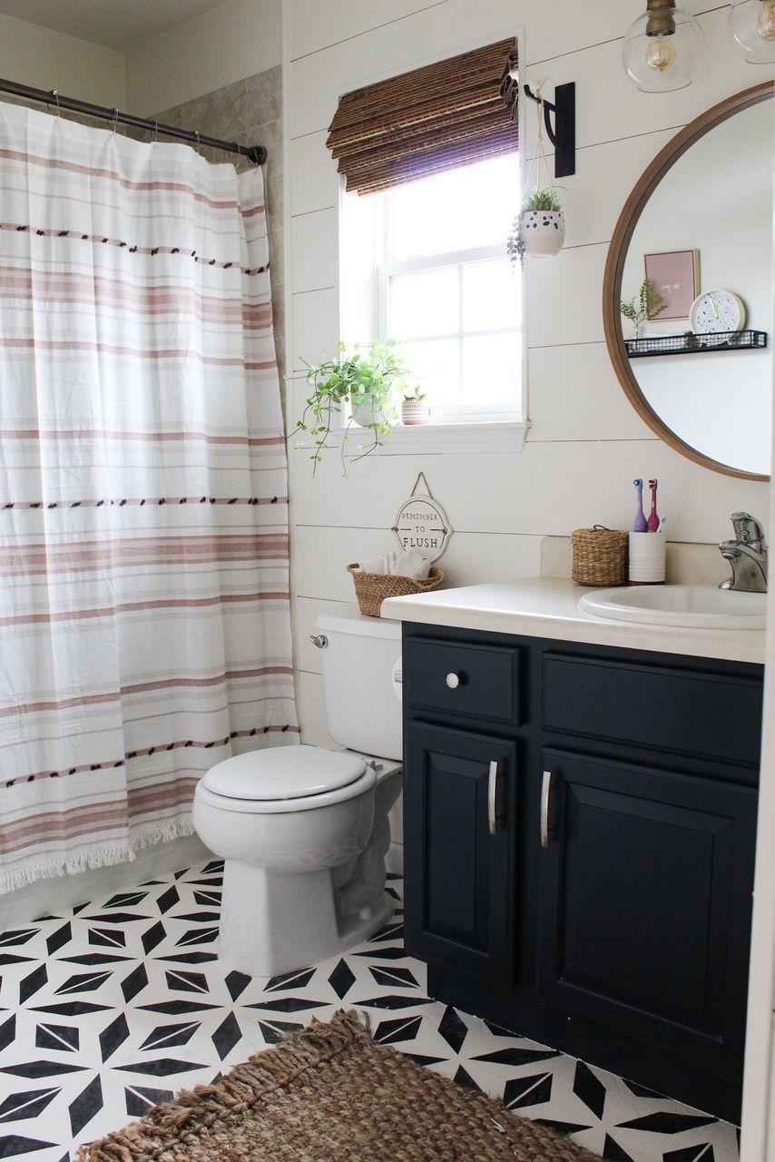 Diy Bathroom Remodel Modern Home Projects Project Whim Blog In 2020 Diy Bathroom Makeover Bathroom Renovation Diy Diy Bathroom Remodel