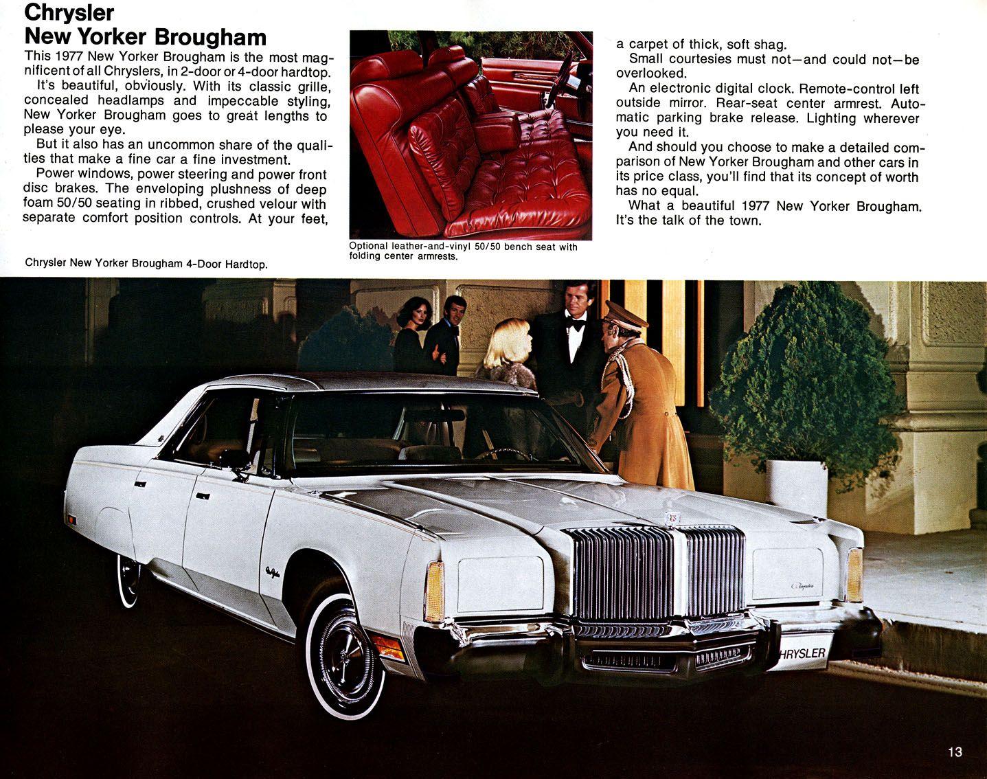 Vehicle · 1977 Chrysler New Yorker ...