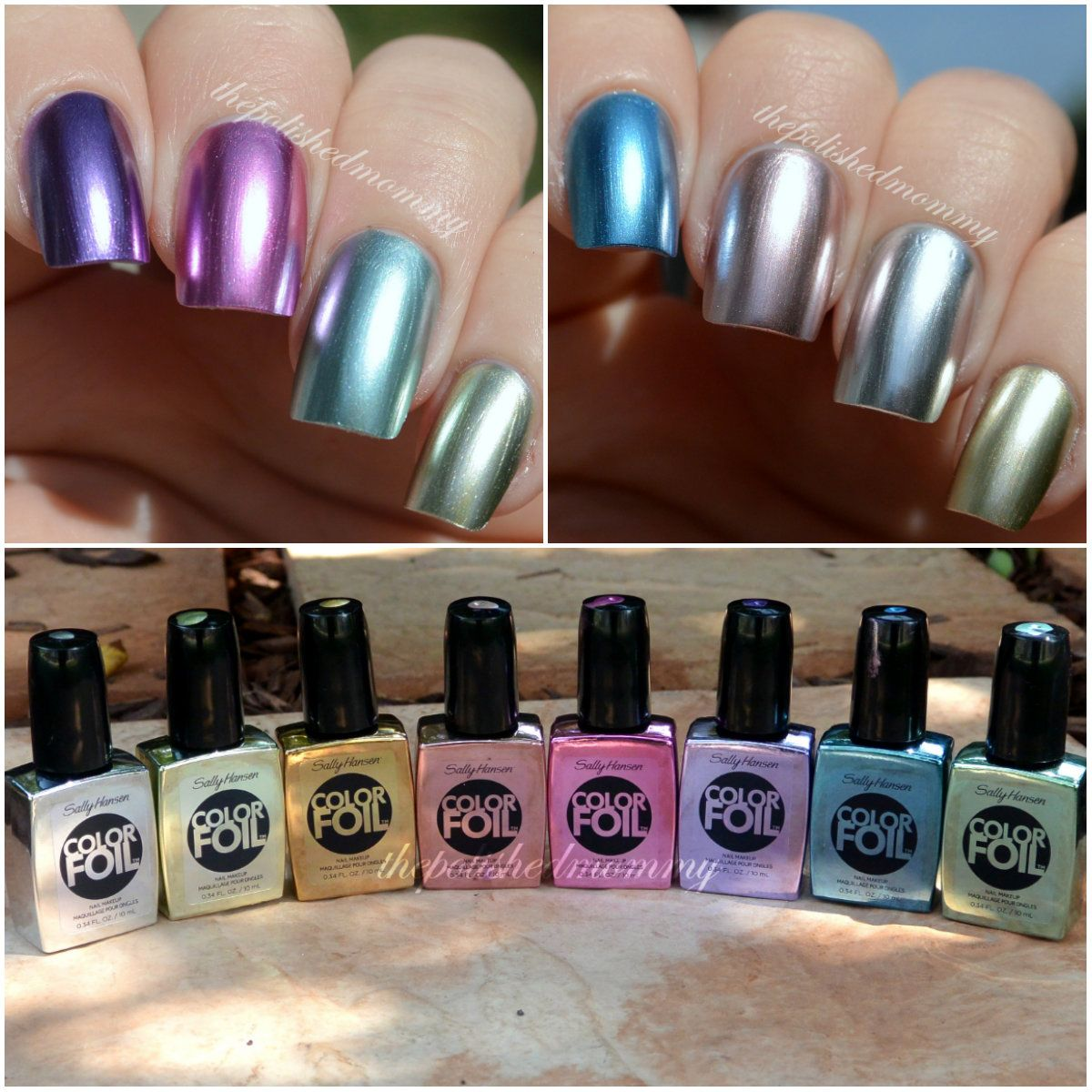 Sally Hansen Colorfoils - good post with lots of helpful tips. These ...