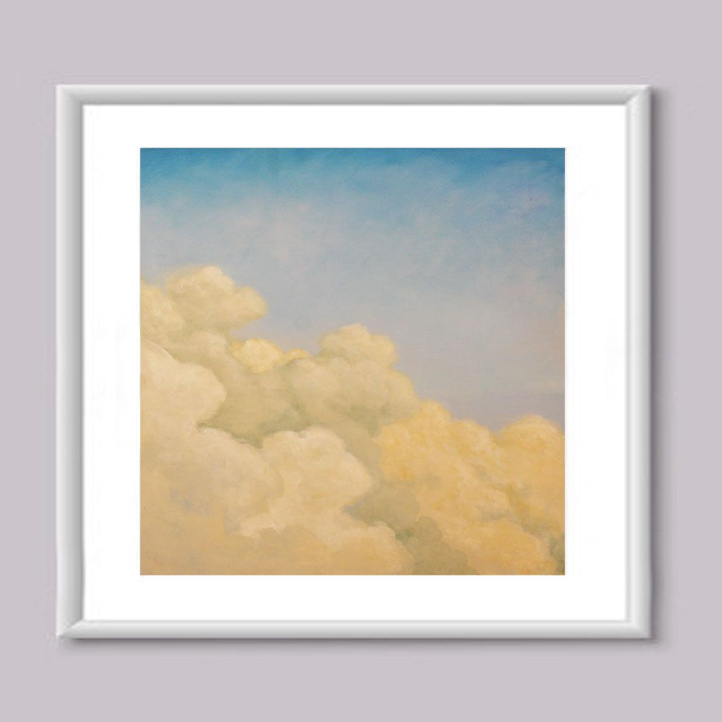 Clouds - Acrylic Painting, Print, painting, canvas, sky, color, home ...
