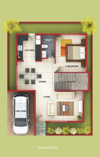 Duplex Floor Plans Indian Duplex House Design Duplex House Map - House design small