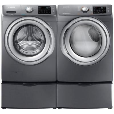 front load washer with steam in platinum energy star washer dryer setslaundry