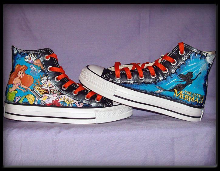 4abd8eceb51c Little Mermaid Converse  ariel I NEED THESE!!!!
