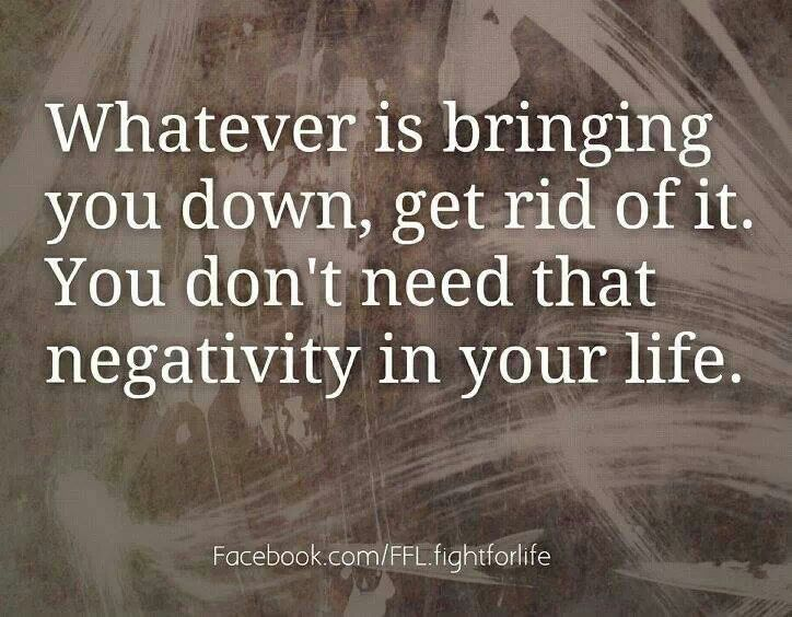... no more negative