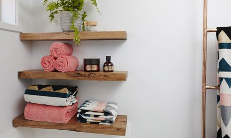 You Can Never Have Enough Storage E In Your Bathroom And Wooden Shelves Are A Perfect Solution Find Out More At Bunnings Warehouse
