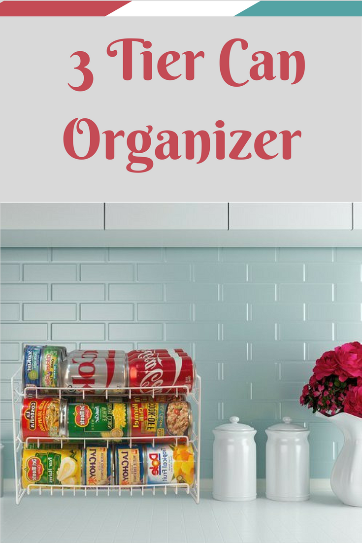 I like this 3 tier can organizer for my kitchen pantry. #ad ...