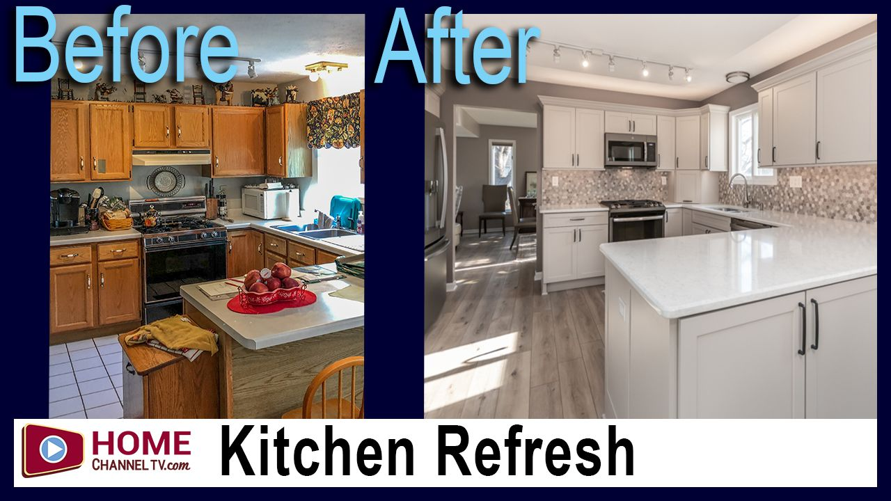Before After Kitchen Remodel Video Kitchen Remodel Kitchen Remodel Before And After Kitchen Design Small
