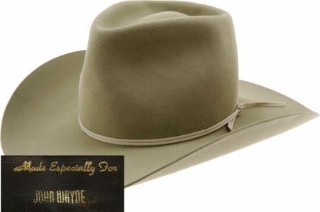 312972cc John Wayne's Custom-Made Cowboy Hat | John Wayne in 2019 | Cowboy ...