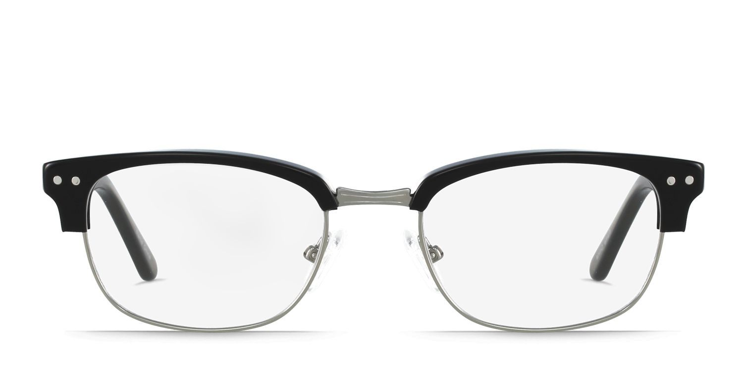 7b6057ea13cb8 Head back to the  50s with these faux semi-rimless full framed glasses.  They are a vintage and studious