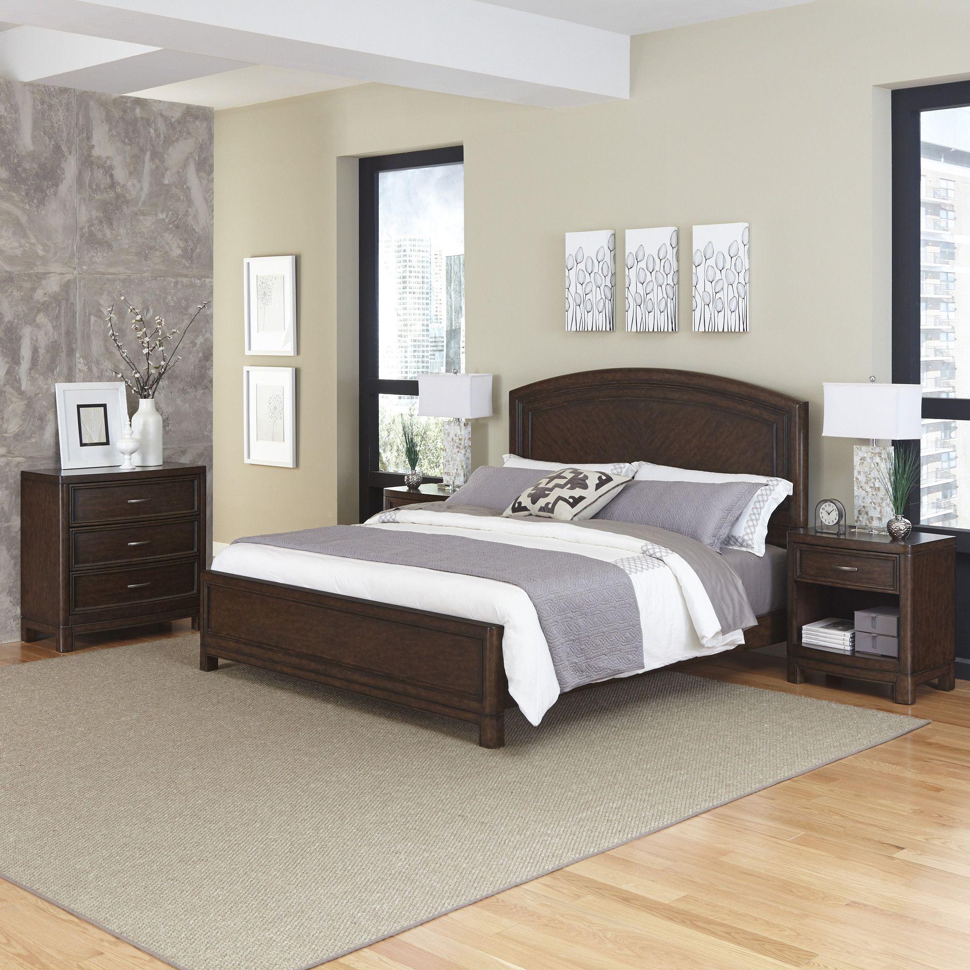 Crescent Hill Standard 3 Piece Bedroom Set Bedroom sets