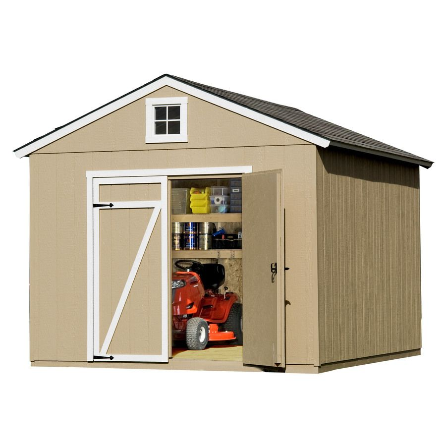 Shop Heartland Statesman Gable Wood Storage Shed Common 10 Ft X 8 Ft Interior Dimensions 10 Ft X 8 Ft At Lowes Com Wood Storage Sheds Storage Shed Shed