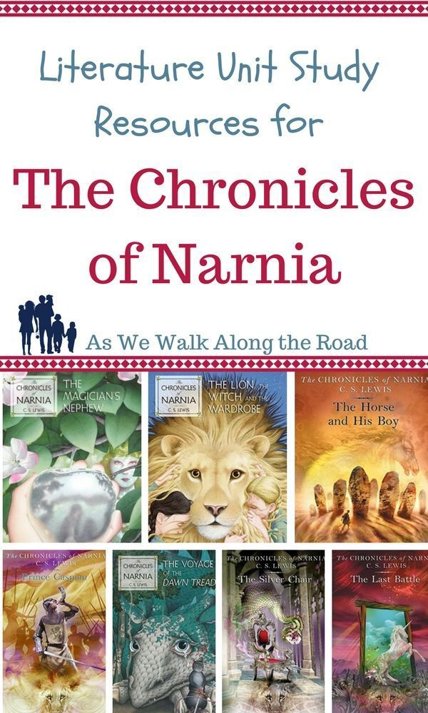 If You Re Reading The Chronicles Of Narnia With Your Kids Don T Miss This Comprehensi Unit Studies Homeschool Literature Unit Studies Homeschool Language Arts