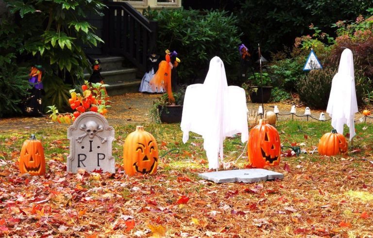 halloween ghost decorations yard Everything Halloween Pinterest - halloween ghost decor
