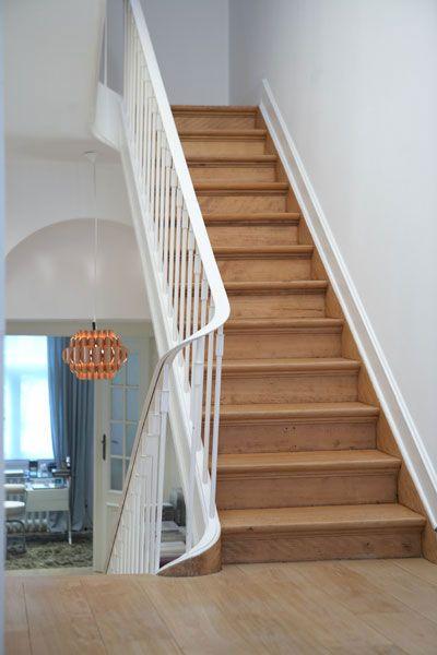 Escalier Bois Et Blanc Escaliers Maison Escalier Maison