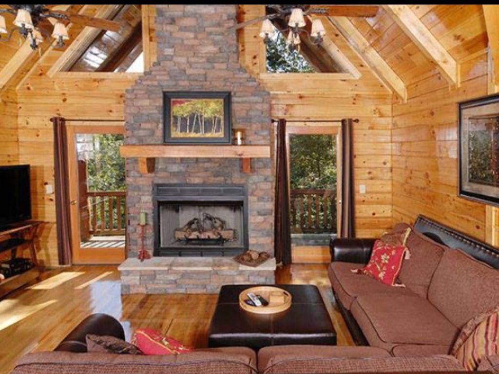Becky s Cabin Beautiful home Pinterest