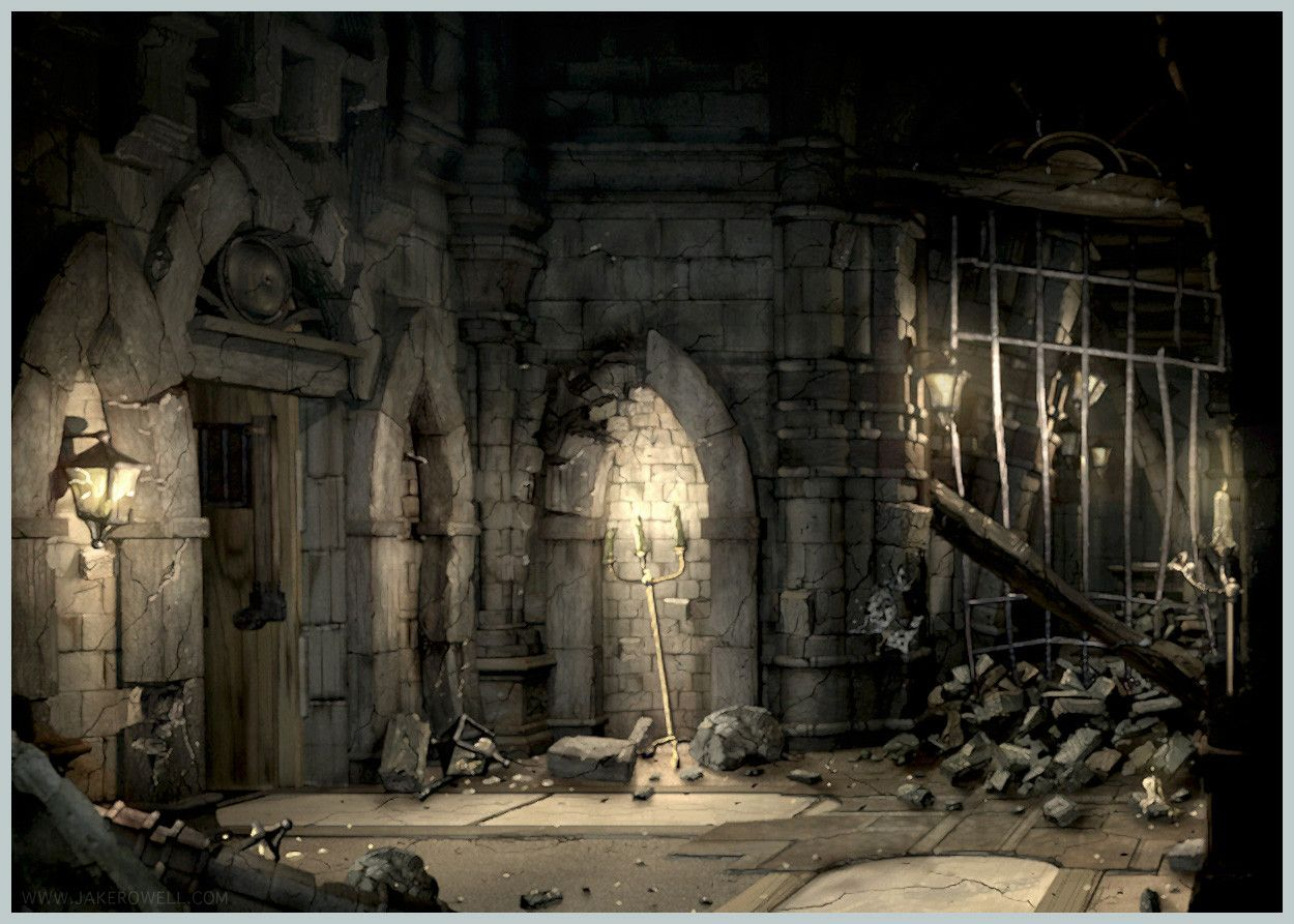 Castle room background - Destruction Of Alexandria Castle