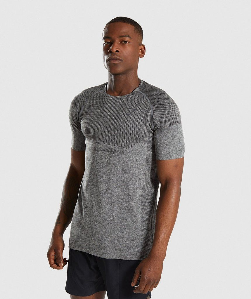 80e80ec20537 Gymshark Shadow X Seamless T-Shirt - Charcoal Marl 1 | My stuff in ...