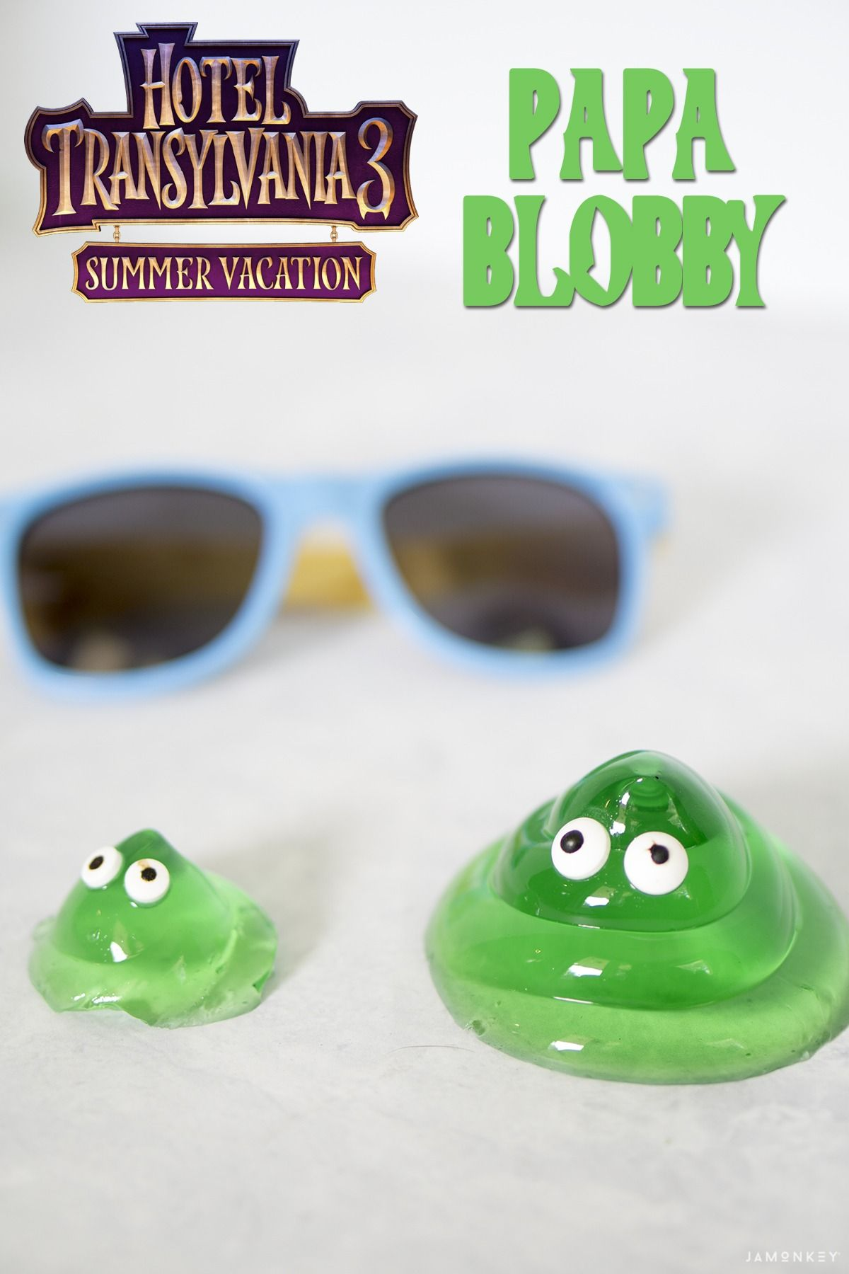Papa Blobby Jello From Hotel Transylvania 3 Summer Vacation HotelT3 HotelTransylvania Recipe