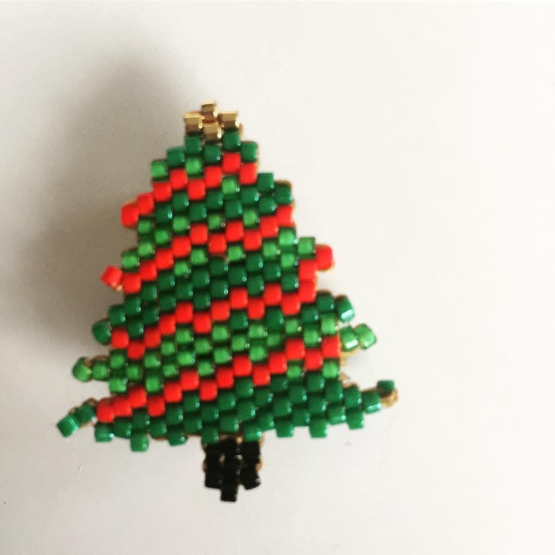 46362486f Beaded Christmas Tree Earrings   Christmas   Earrings, Christmas tree  earrings, Earring tree