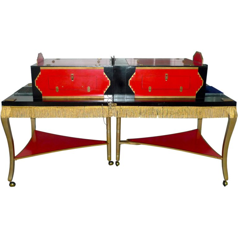 Vintage Magician S Saw The Lady In Half Table 1stdibs Com The Magicians Half Table Box Hacks